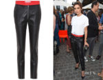 Victoria Beckham's Victoria Beckham Leather Trousers