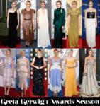 Which Was Your Favourite Greta Gerwig Awards Season Look?