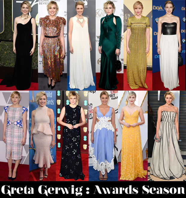 Which Was Your Favourite Greta Gerwig Awards Season Look?