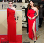 Who Wore Dundas Better? Alison Brie or Moran Atias?