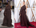 Zendaya Coleman In Giambattista Valli Couture - 2018 Oscars