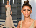 Zendaya Coleman In Michael Kors Collection - 2018 Vanity Fair Oscar Party