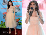 Zendaya Coleman In Off-White - Nickelodeon's 2018 Kids' Choice Awards