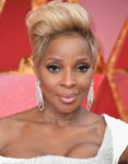 Get The Look: Mary J Blige's Elegant Modern Oscars Beauty