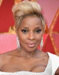 Get The Look: Mary J Blige's Elegant Modern Oscars Beauty
