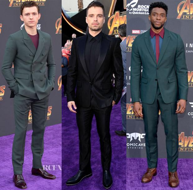 'Avengers: Infinity War' LA Premiere Menswear Roundup