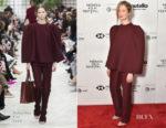 Alba Rohrwacher In Valentino - 'Daughter of Mine' Tribeca Film Festival Premiere