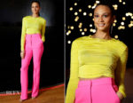 Alesha Dixon In David Koma - 'Lightning Girl' Book Launch