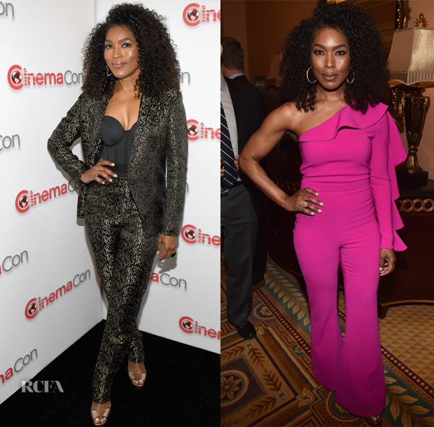 Angela Bassett In Dzojchen & Christian Siriano -  CinemaCon 2018