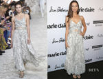 Angela Sarafyan In Etro - Marie Claire's 5th Annual 'Fresh Faces'