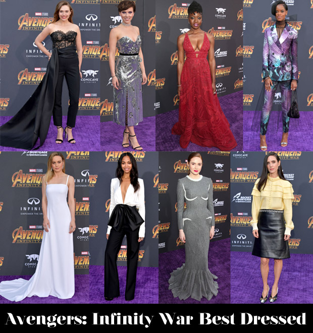 Who Was Your Best Dressed At The 'Avengers: Infinity War' LA Premiere?