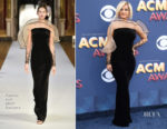 Bebe Rexha In Yanina Couture - 2018 ACM Awards