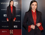 Bel Powley In Gucci - 'Wildling' New York Screening