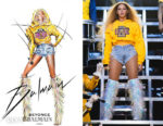 Beyonce Knowles Wore Five Custom Balmain Looks During Her Coachella Performance