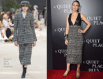 Blake Lively In Chanel Couture - 'A Quiet Place' New York Premiere
