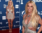 Britney Spears In Giannina Azar - 2018 GLAAD Media Awards Los Angeles