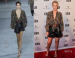 Charlize Theron In Saint Laurent - 'Tully' San Francisco Film Festival Premiere