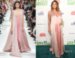 Chrissy Teigen In Valentino - City Harvest's 35th Anniversary Gala
