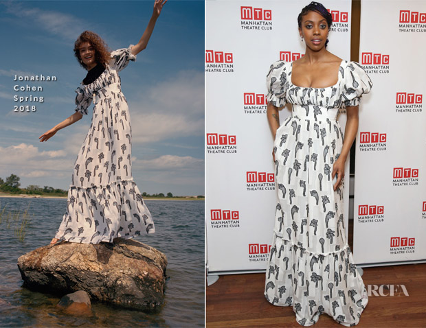 Condola Rashad In Jonathan Cohen - 'Saint Joan' Broadway Opening Night
