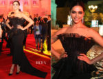 Deepika Padukone In Amit Aggarwal Couture - Filmfare Middle East Launch Event
