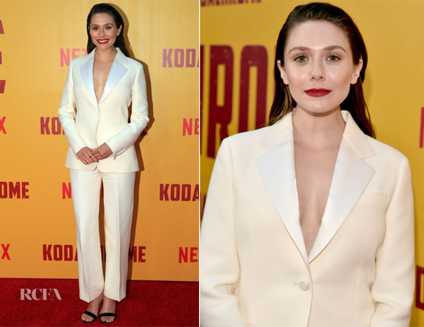 Elizabeth Olsen In Christian Dior - 'Kodachrome' LA Premiere