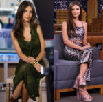 Emily Ratajkowski In Alturazza & Prada - The Today Show & The Tonight Show Starring Jimmy Fallon