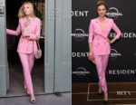 Emily VanCamp In Dolce & Gabbana - 'The Resident' London Screening