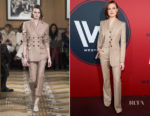 Evan Rachel Wood In Altuzarra - 'Westworld' Season 2 LA Premiere