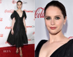 Felicity Jones In Oscar de la Renta -  The CinemaCon Big Screen Achievement Awards