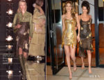 Gigi Hadid In Atelier Versace & Bella Hadid In Vintage Christian Dior - Gigi Hadid's 23rd Birthday Party