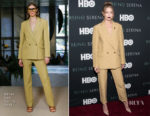 Gigi Hadid In Derek Lam - 'Being Serena' New York Premiere