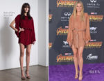 Gwyneth Paltrow In Retrofête - 'Avengers: Infinity War' LA Premiere