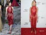 Hailey Baldwin In Zuhair Murad Couture - Bert Marcus' The American Meme' Tribeca Film Festival Premiere