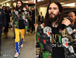 Jared Leto In Gucci -  'America' Album Launch