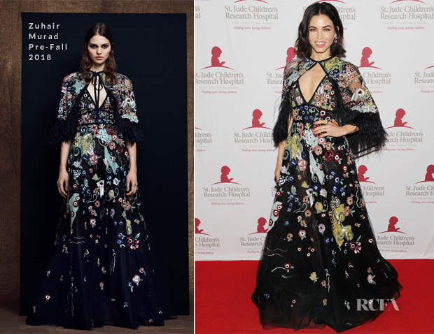 Jenna Dewan In Zuhair Murad - 5th Annual St. Jude Hope & Heritage Gala