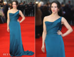 Jessica Brown Findlay In Vivienne Westwood Couture - 'The Guernsey Literary and Potato Peel Pie Society' World Premiere