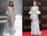 Kara Tointon In Blumarine - The Olivier Awards