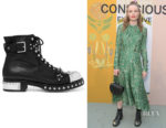 Kate Bosworth's Alexander McQueen Studded Ankle Boots