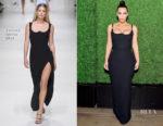 Kim Kardashian In Versace - KKW x Mario Dinner