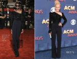 Kimberly Schlapman In Christian Siriano & Gucci - 2018 ACM Awards