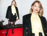 Lea Seydoux In Louis Vuitton - 'Isle of Dogs - L'Ile Aux Chiens' Paris Premiere