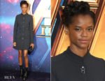 Letitia Wright In Louis Vuitton - Marvel Studios' 'Avengers: Infinity War' UK Fan Event