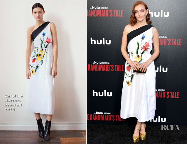 Madeline Brewer In Carolina Herrera - 'The Handmaid's Tale' Season 2 Premiere