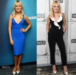 Malin Akerman In Greta Constantine & Mario Dice - SiriusXM & Build