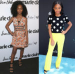 Marsai Martin In Giamba & Alice + Olivia - Marie Claire's 5th Annual 'Fresh Faces'  &  FYC Event For ABC's 'Blackish'