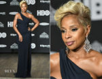 Mary J Blige In Versace - 33rd Annual Rock & Roll Hall of Fame Induction Ceremony