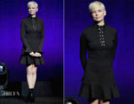 Michelle Williams In Louis Vuitton - 'Venom' CinemaCon Presentation