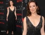 Molly Parker In Cushnie et Ochs - Premiere Of Netflix's 'Lost In Space' Season 1