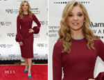 Natalie Dormer In Roksanda - Marriott International Loyalty Programme Launch Party