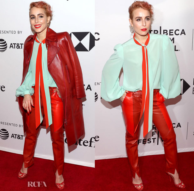 Noomi Rapace In Givenchy - 'Stockholm' Tribeca Film Festival Premiere